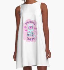 internet crush tumblr aesthetic A-Line Dress