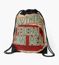 Mochila saco Saco de grano de arpillera / saco de alimentación / gráficos de estilo vintage
