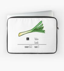 Take Leek Laptop Sleeve