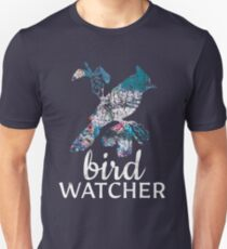 Bird Watcher Birding Birdwatching Nature Animal Birds Ornithology Unisex T-Shirt