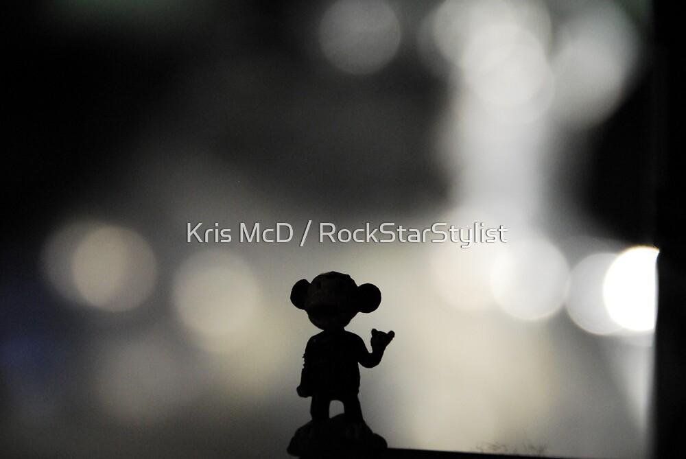 metal monkey by Kris McD / RockStarStylist