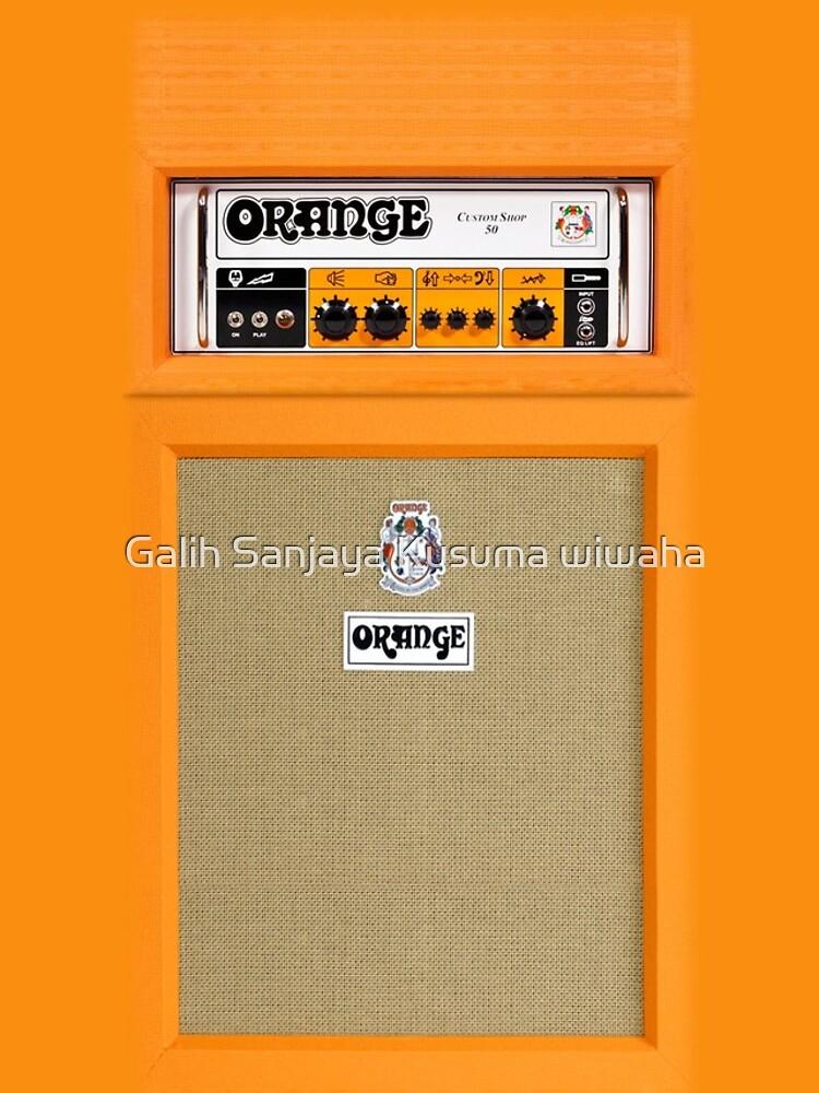 Orange Farbverstärker von GalihArt