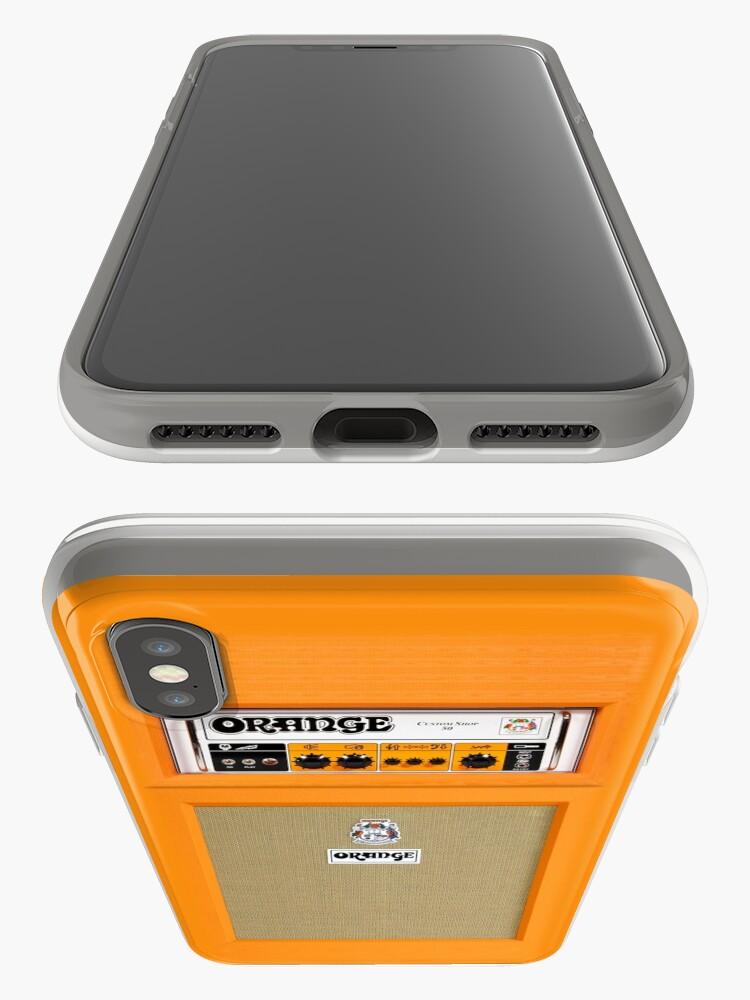 Alternative Ansicht von Orange Farbverstärker iPhone-Hüllen & Cover