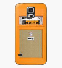 Orange color amp amplifier Case/Skin for Samsung Galaxy