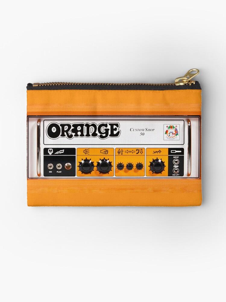 «Amplificador de amplificador de color naranja» de Galih Sanjaya Kusuma wiwaha