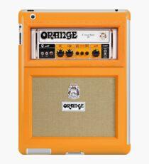 Orange color amp amplifier iPad Case/Skin