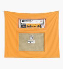 Tela decorativa Amplificador de amplificador de color naranja