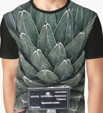 Agave Victoria Plant Photo  Graphic T-Shirt