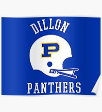 Dillon Panthers Football  Poster