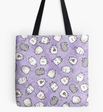 Bolsa de tela Cute Kawaii Cats Cat Pattern