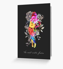 The Most Exotic Flower Greeting Card