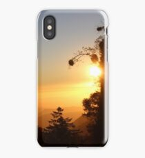 Beautiful Mountain Sunset view iPhone Case/Skin