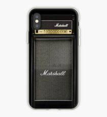 Black and gray color amp amplifier iPhone Case