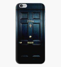 Haunted Blue Door mit 221b Nummer iPhone-Hülle & Cover