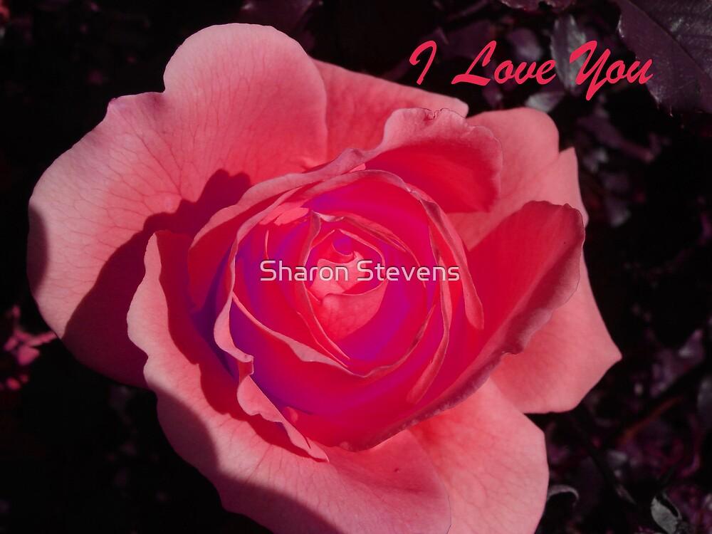 Valentine - I Love You by Sharon Stevens