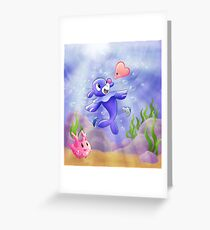 Popplio Under the Sea Greeting Card