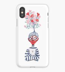 Flower Boy iPhone Case
