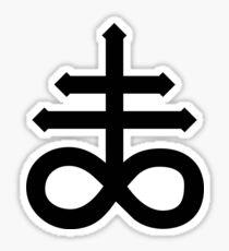 Sulfuric Cross Sticker