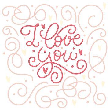 I love you -- postcard by Sigrlynn
