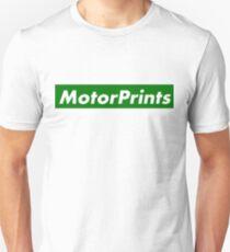 MotorPrints (green) Unisex T-Shirt