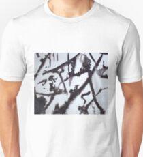 EVENING AFTER FRESH SNOW FALL(C2000) Unisex T-Shirt