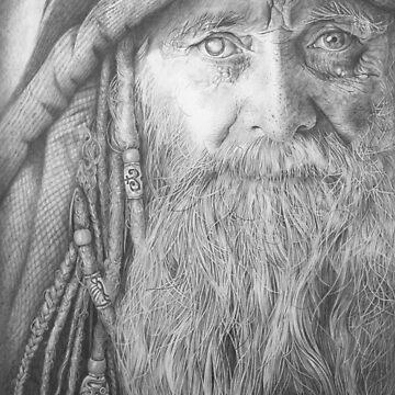 Merlin by FrancoisArt
