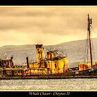 Wreck of the Cheyne II by Peter Rattigan