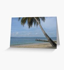 Isle of San Blas PANAMA - the Caribbeans Greeting Card
