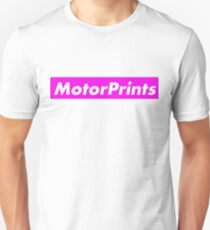 MotorPrints (pink) Unisex T-Shirt