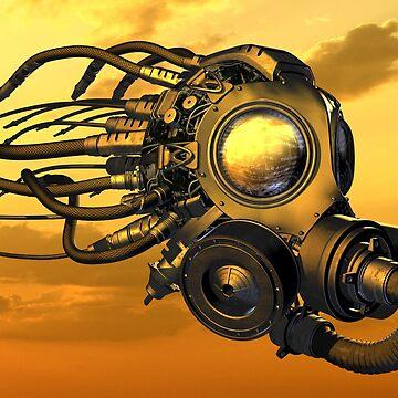 Gasmask by FrancoisArt
