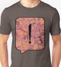 Exclamation Point Callout Bubble Unisex T-Shirt