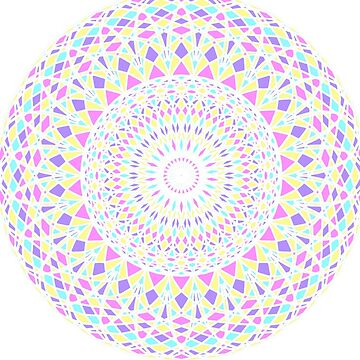 Mandala-White by Black-kat