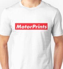 MotorPrints (red) Unisex T-Shirt