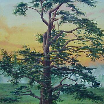 Solitary Tree by FrancoisArt