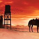 Red Sky at Night Cowboys Delight by Shanina Conway