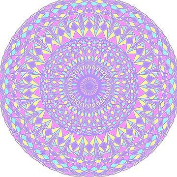 Mandala-Purple by Black-kat