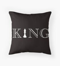 Chess King Chess Board Game Piece Army  Throw Pillow