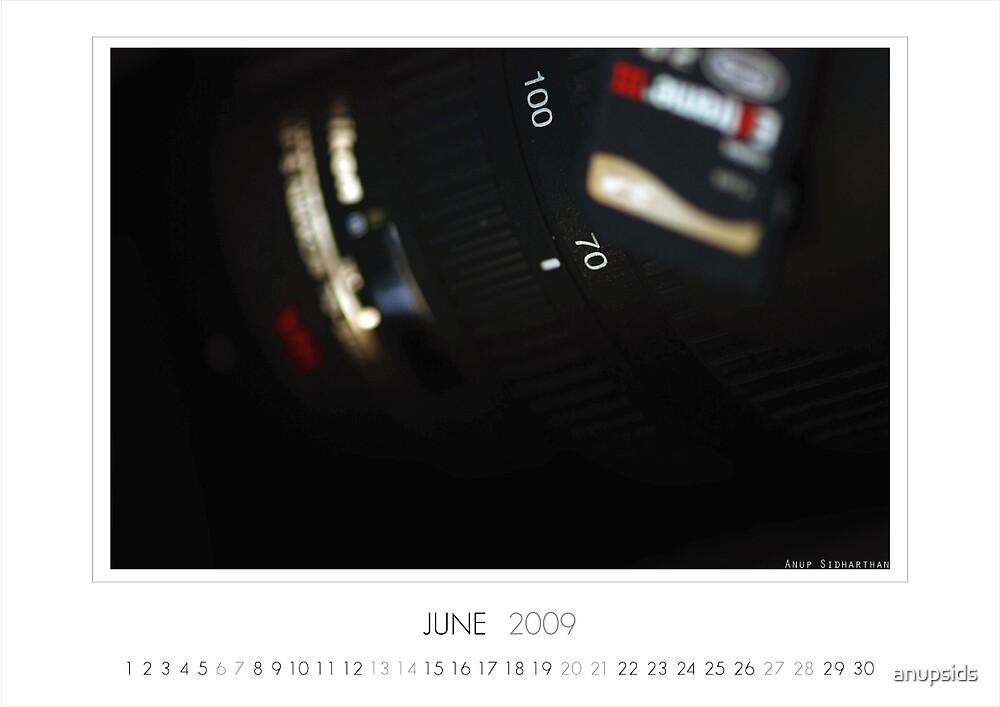 June 2009 Calendar by anupsids