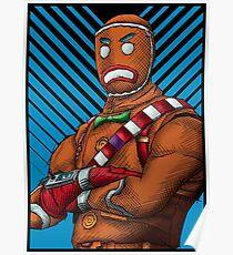 Fortnite - Gingerbread skin Poster