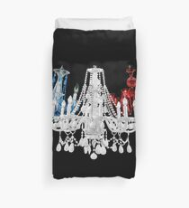 Chandelier Trio Duvet Cover