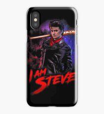 I am Steve Babysitter iPhone Case