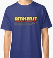 Amherst, Nova Scotia | Retro Stripes Classic T-Shirt