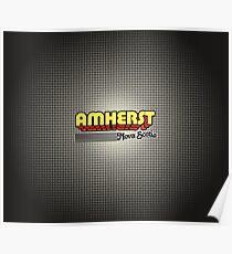 Amherst, Nova Scotia   Retro Stripes Poster