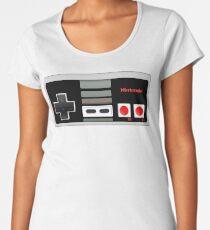Classic old vintage Retro game controller Women's Premium T-Shirt