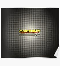 Montmagny, Québec   Retro Stripes Poster