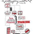 Freelance Flowchart Handlettering by madebymarzipan