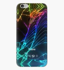Broken Damaged Cracked out back Black iphone Photograph iPhone Case