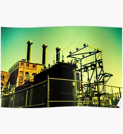 Point Street Power Station Poster
