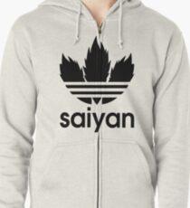 Saiyan - Dragon Ball Z Zipped Hoodie