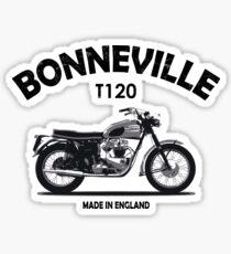Bonneville T120 Made In England Sticker